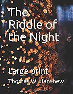 The Riddle of the Night: Large print