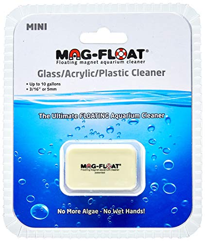 Fish Food Supplies | Gulfstream Tropical AGU00259 Mag-Float Mini Glass and Acrylic Aquarium Cleaner, Gym exercise ab workouts - shap2.com