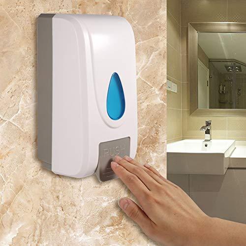 Shampoo Dispenser - 1000 ml douche-wand-shampoo box vloeibare zeep lotiondispenser houder voor keuken badkamer