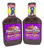 Famous Dave's BBQ Sauce, Sweet and Zesty Grill Master's Secret Blend, 20 Ounces (Pack of 2)