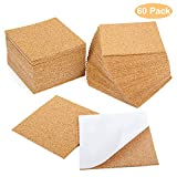 Blisstime 60 Pcs Self-Adhesive Cork Sheets 4
