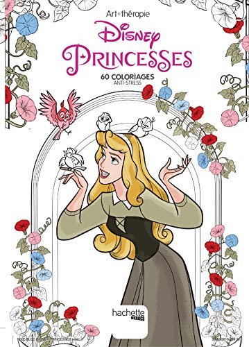 Disney Princesses: 60 coloriages anti-stress