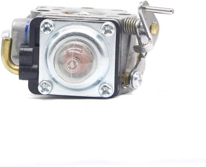 Color : Silver Carburador de motocicleta Carburador CARB for Husqvarna 122HS45 122HD60 Trimmer Piezas Reemplaza 523012401 for Mcculloch 4528 for Redmax CHT220 Para coches y cortadoras de c/ésped