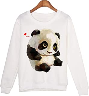 Cute Autumn Women Pullovers Clothes Casual Hoodies Sweatshirts