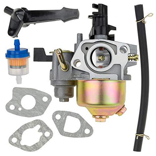 HIAORS Carb Carburetor with Gaskets Fuel Line Filter for Coleman KT196 196cc 5.5HP 6.5HP Go Kart OHV Engine Mini Bike Coleman ct 100 u Parts
