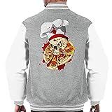Cloud City 7 Halloween Pizza Delivery Men's Varsity Jacket
