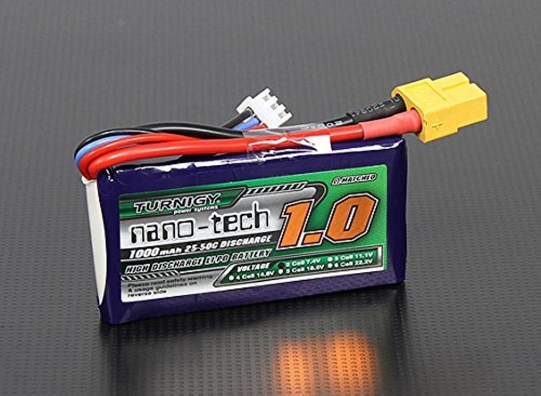 calidad auténtica Turnigy nano-tech 1000mah 2S 2550C Lipo Pack by Turnigy Turnigy Turnigy  comprar barato