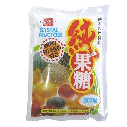 健康フーズ純果糖 500g4405