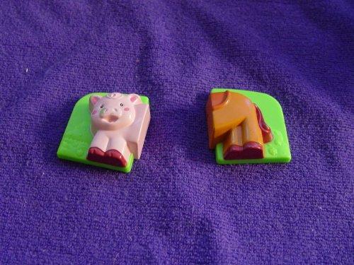 Leapfrog Fridge Magnet Replacement Front Half of Pig, Back Half of Horse Magnets