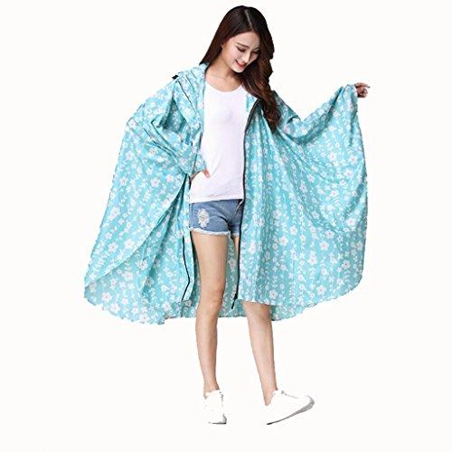 MXueei Regenjas Licht Mantel Leuke Japanse En Koreaanse Mode Licht Mantel Regenjas Volwassen Waterdichte Regenjas