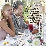 THE TWIDDLERS 200 Marque-Places Élégantes, Cartes de Nom Table: Mariages & Fêtes #4