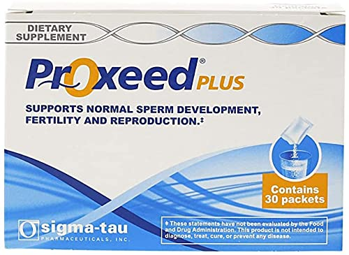 Proxeed Plus - Male Fertility Supplement - 30 Count (Pack of 1)