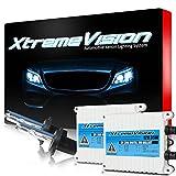 XtremeVision 35W AC Xenon HID Bundle with Slim AC Ballast (1 Pair) and H7 5000K - 5K Bright White Xenon Bulbs (1 Pair)