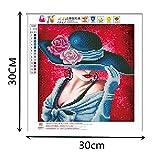 LILICATDiamant Broderie Fée Peinture Diamants Papillon 5D Broderie Peinture Beauté pour Adultes...