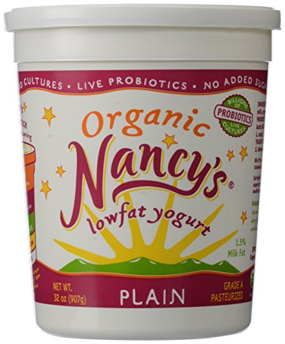 Nancy's, Organic Low Fat Yogurt, Plain, 32 oz