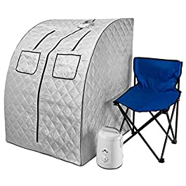 Durasage Oversized Portable Steam Sauna Spa for Weight Loss,...