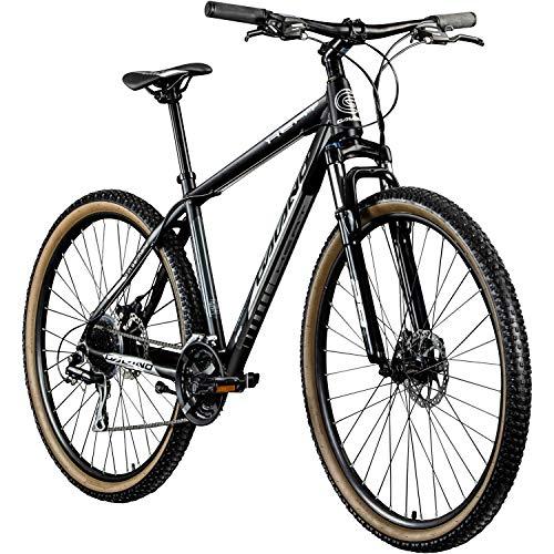 Galano MTB Hardtail 29 Zoll Fahrrad Heat Mountainbike 24 Gänge Mountain Bike (grau/schwarz, 48 cm)