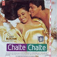 Chalte Chalte Hindi Film Songs / Indian Music / Bollywood Movie Soundtrack/ Sharukh Khan/ Rani Mukerji/ Jatin/Lalit