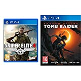 sniper elite 4: italia ps4- playstation 4 & shadow of the tomb raider - playstation 4
