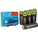 Playmobil Accesorios - Motor para barco (5159) y 8 pilas recargables AA de Amazon Basics...
