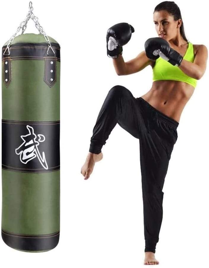 PQQ Cash special price Boxing Heavy Bag Hanging Punching UNFILLED Max 62% OFF