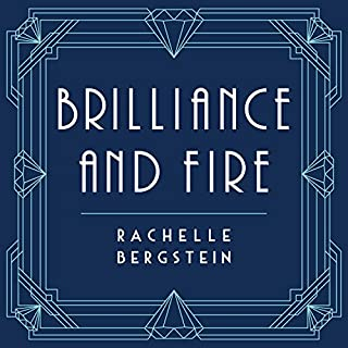 Brilliance and Fire audiobook cover art