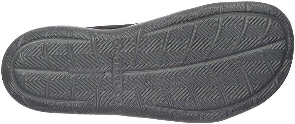 Crocs Mens Swiftwater Mesh Wave Sandal Casual Outdoor Slip On Sandals for Men