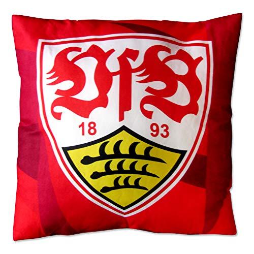 VfB Stuttgart Kissen Wappen rot ca. 38 x 38 cm