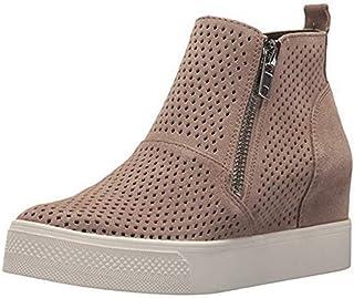 5983405e Zapatillas Deportivas de Mujer Cuña Sneakers Plataforma Casual Zapatos para  Dama Ante Piel Tacon 5cm Botines