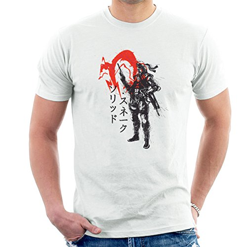 Red Sun Snake Metal Gear Solid Men's T-Shirt
