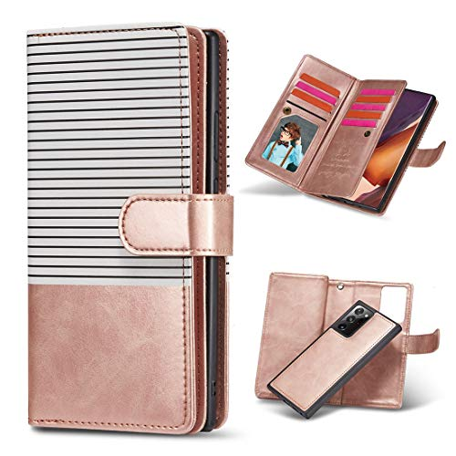 JIAHENG Phone Case Case For Samsung Galaxy Note20 Flip Case,Premium PU Leather Wallet Case with Kickstand and Flip Cover,Mobile Wallet Protective Case with ID & Credit Card Pocket PU Leather Cove
