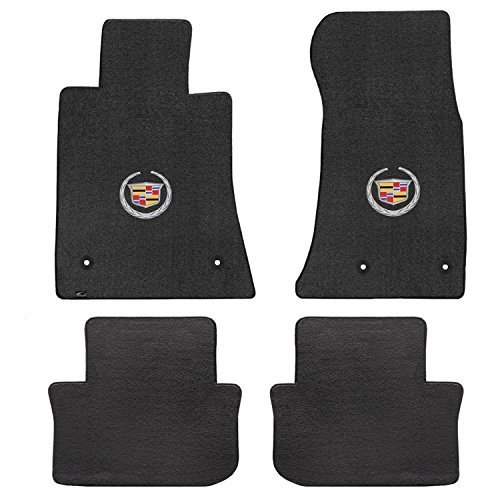 Choose Color /& Logo Cadillac XTS 4pc Velourtex Carpet Floor Mat Set