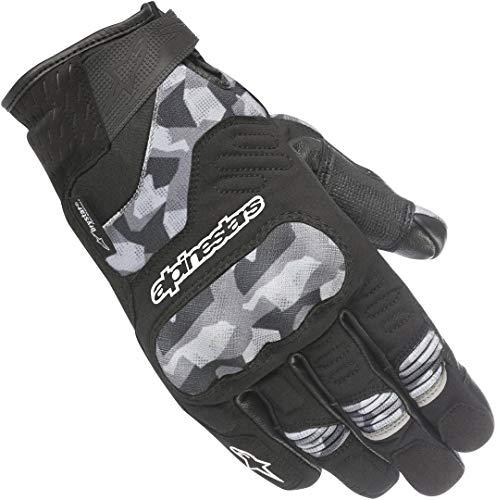 Alpinestars 1694400202 Motorrad Handschuhe, Schwarz/Camo, M