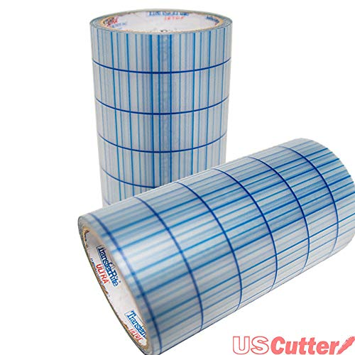 Greenstar TransferRite Ultra Clear Medium Tack Transfer/Application Tape w/Grid, 12