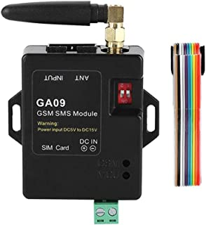 Tosuny Sistema de Seguridad para el hogar, Mini 8 Canales Sistema de Alarma para el hogar gsm Inteligente Auto Dial Call House Intruder Alarm Inalámbrico SMS Alarm Call