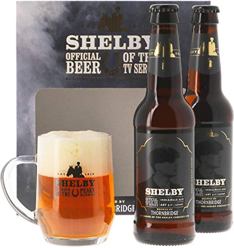 Pack Thornbridge Shelby - 2 cervezas y 1 vaso de coleccionista