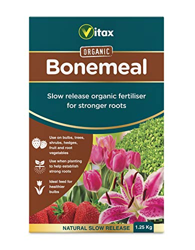 Vitax Ltd Fertiliser 1.25KG 6BM126 Bonemeal-Fertilizante para Plantas (1,25 kg)