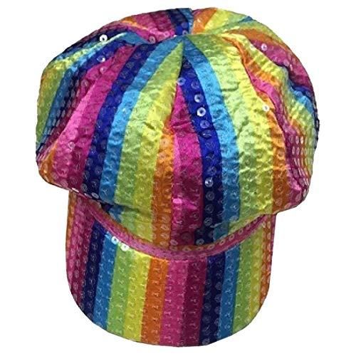 Sombrero de fieltro para adultos, diseo de gngster gay Pride para disfraz, sombrero de nio (sombrero para nio de panadero) talla nica