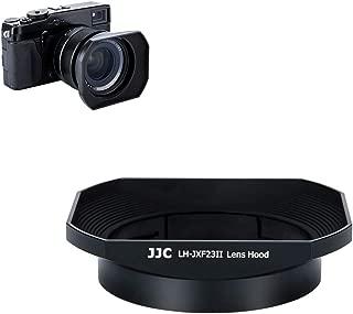 JJC lh-jxf23iiブラックメタルバヨネットレンズフード交換Fujifilm lh-xf23, Fits for Fujinonレンズ23mm f1. 4XF R