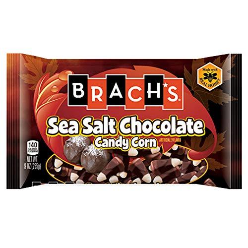 Brach's Sea Salt Chocolate Candy Corn - 9 ounce Bag (3 Pack)