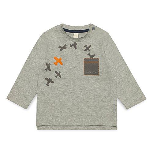 ESPRIT KIDS ESPRIT KIDS Baby-Jungen RM1008209 T-Shirt, Grau (Mid Heather Grey 260), 68