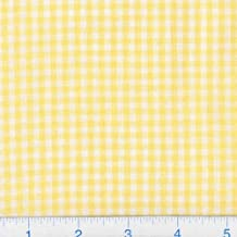 Best yellow gingham fabric Reviews