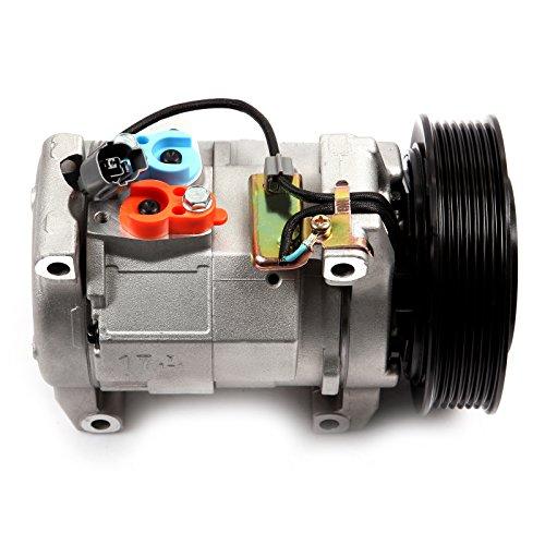 ECCPP A/C Compressor 2003-2007 Compatible for H-onda for Accord 2.4L CO 28003C