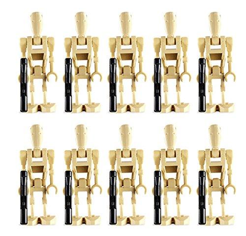 LEGO 10 New Battle Droid Minifig Lot Star Wars Figures Minifigures Clone Guns