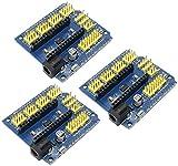 ZHITING 3 PZ Modulo di schermatura del sensore di espansione Nano I/O per Arduino R3 Nano ...