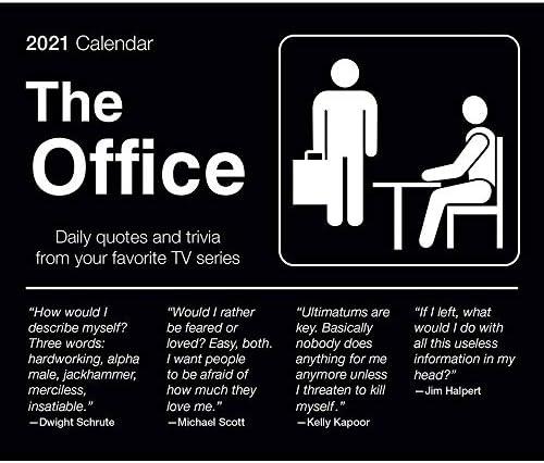 The Office Calendar 2021 Desk Calendar The Office Merchandise product image