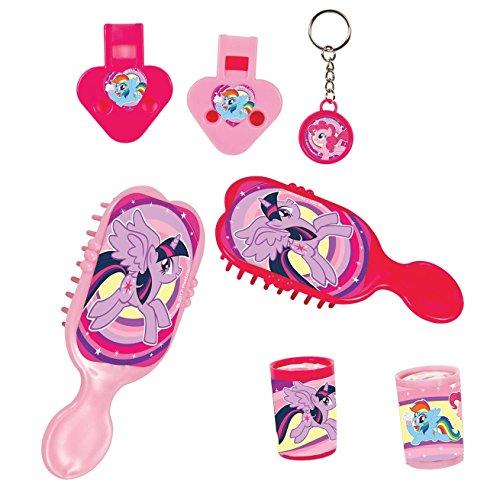 amscan- Favor Pack with Theme-24 PCS. Confezione di bomboniere con Tema My Little Pony, 24 Pezzi, Colore Rosa, 10118498