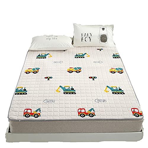 mattress WANGTX tatami delgado hogar cama individual cama doble cuatro estaciones cálido cojín niños gateando estera/A / 100 × 200 cm