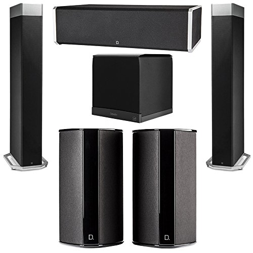 Why Choose Definitive Technology 5.1 System with 2 BP9080X Tower Speakers, 1 CS9060 Center Channel S...