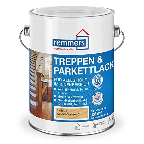 Remmers Treppen- und Parkettlack (2,5l, farblos seidenmatt)